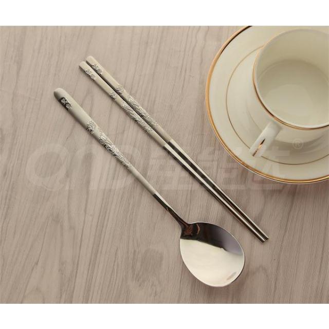 喷砂-鸳鸯 匙筷